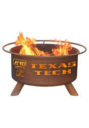 Texas Tech Red Raiders 30x16 Fire Pit