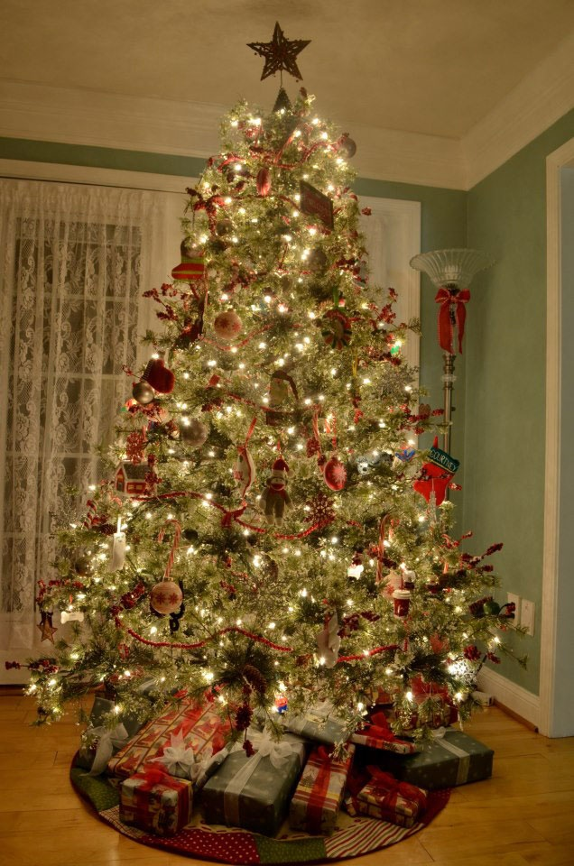 53 Best Images About Old Fashion Christmas Trees And