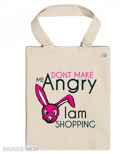 Mad Bunny Shopper ECO Tote Bag