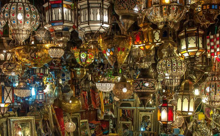 Marokkaanse lampen