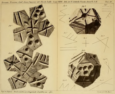 Etruscan dodecahedron from Monte LoffaEtruscan Dodecahedron, Ancient Etruscan, Ancient Civilizations Fossils, Earth Stories, Monte Loffa, Hard Covers, Ancient Civilizationsfossil, Planets Earth