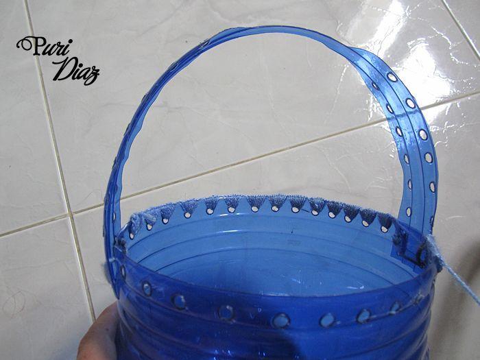 Reciclar garrafas de agua