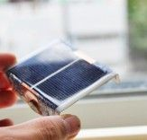 How to make a solar battery charger from a playing card