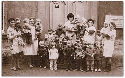 DDR Kinderkrippe #WendekinderWendeeltern #DDR