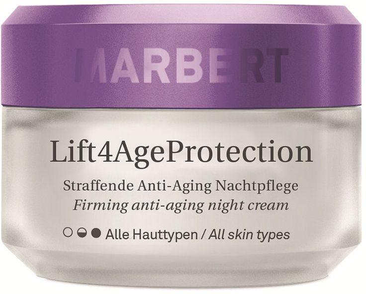 Marbert Lift4Age Protection Nachtcreme is een verzorgingslijn die de huid zichtbaar gladder maakt, haar weerstand versterkt en daarnaast het huidvernieuwingsproces aanzienlijk stimuleert.