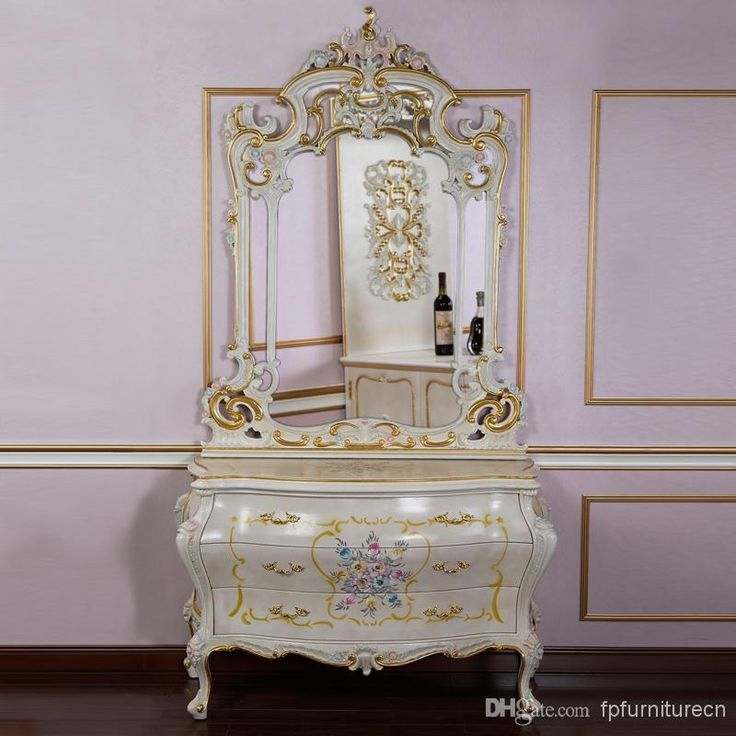 Bombe chest and mirror - Best Hot Selling Classic Italian Furniture Home Furniture Online with $1512.05/Piece | DHgate