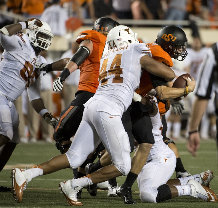 Jackson Jeffcoat (44) Texas longhorns football, Texas