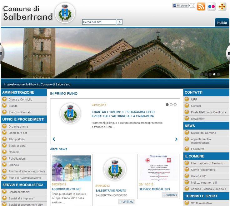 Comune di Salbertrand www.comune.Salbertrand.to.it #GovCube