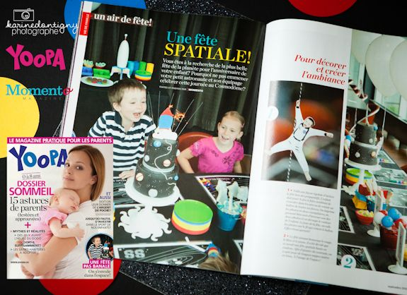 kids space party http://www.momentomagazine.com/