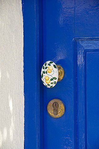 Doorway, Assos, Kefalonia (Cephalonia), Greece, Europe