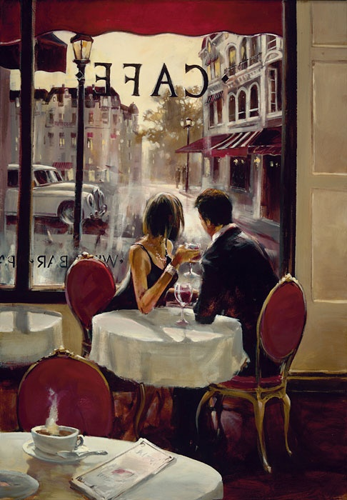 Brent Heighton - Paris Cafe - Romantic Evenings