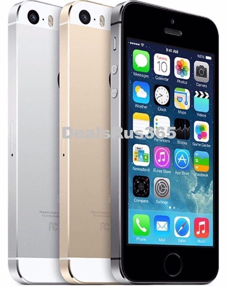 T Mobile Apple IPhone 5S 16GB 4G LTE GSM Smartphone