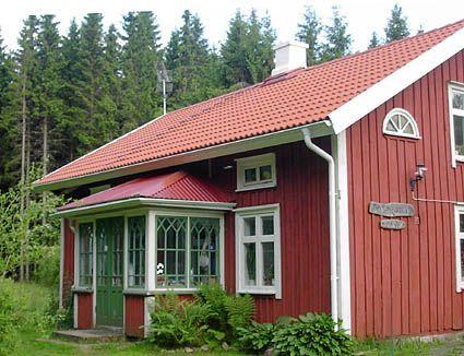 Bildresultat för sekelskifteshus falu rödfärg