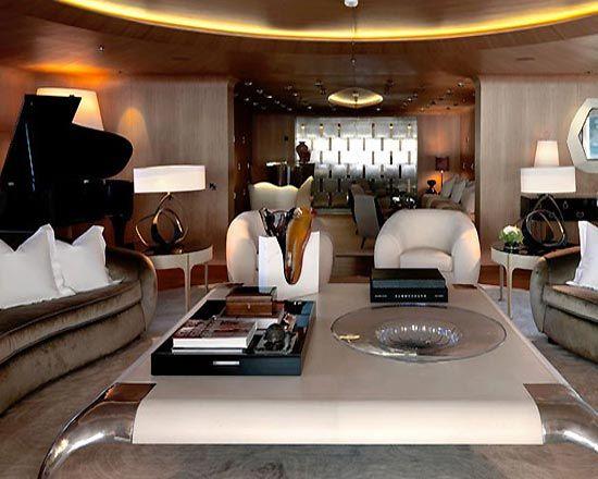Mega Superyacht Interior Design