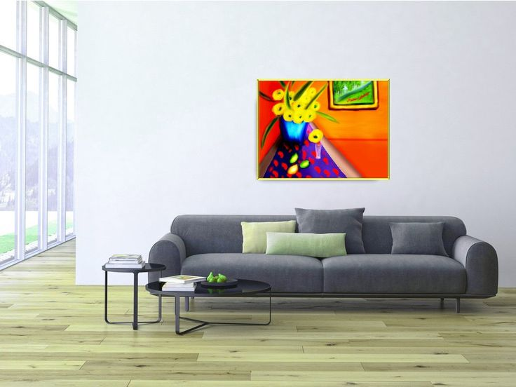 ID59 Colourful Abstract. Trendy wall art. Instant colour to home or office decor. Affordable Gift. Instant digital download by ElcoStudio on Etsy