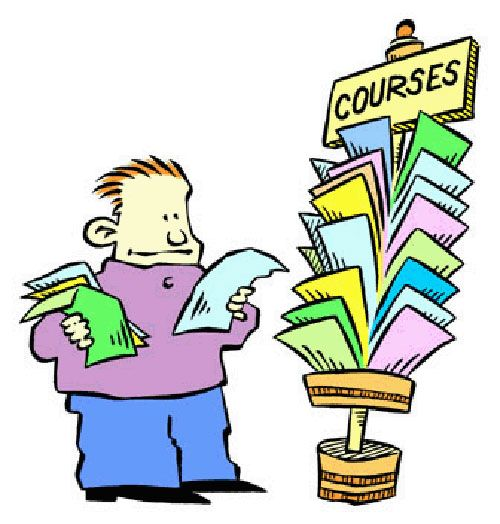 Courses available at ANU