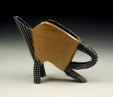 On the cat walk Seawater fired  http:\\www.kingspointpottery.com\