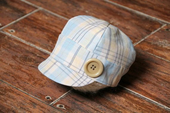 Newborn Photo Props Newborn Baby Boy Cap by LorasBabyBoutique, $26.00
