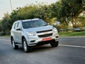 Chevrolet Trailblazer test drive review