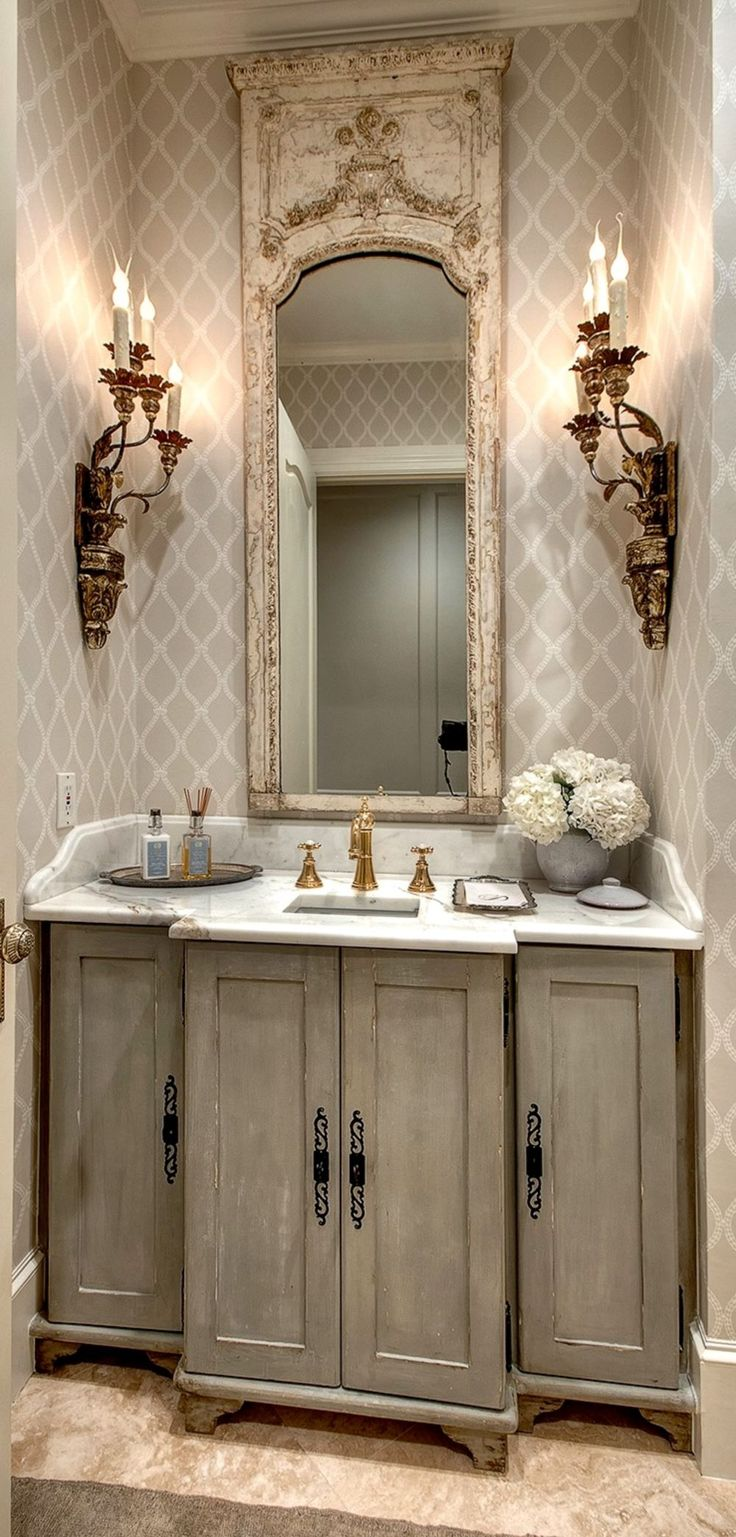 Best 25 French country bathrooms ideas on Pinterest  French country bathroom ideas Country
