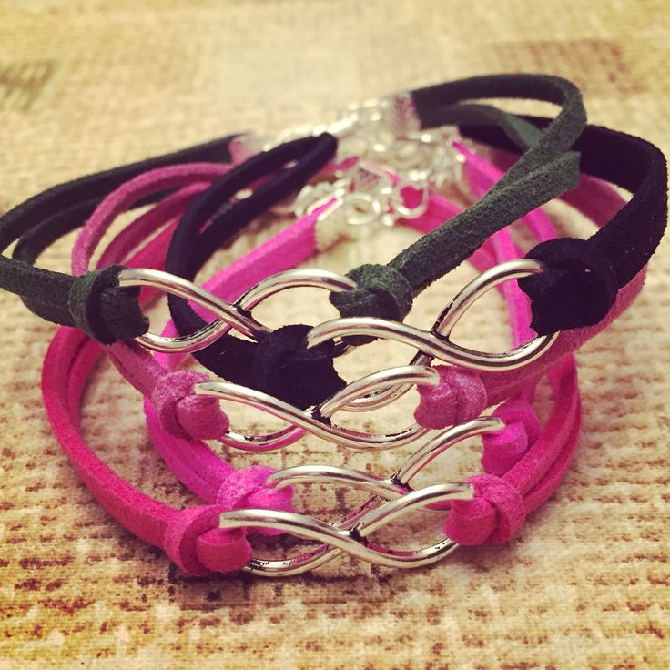 Braccialetti INFINITO ➰➰➰ #handmadewithlove #bracelets #infinito