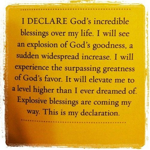 Day #1 Scriptural Promises of *I DECLARE: 31 Promises to Speak Over Your Life* by Joel Osteen