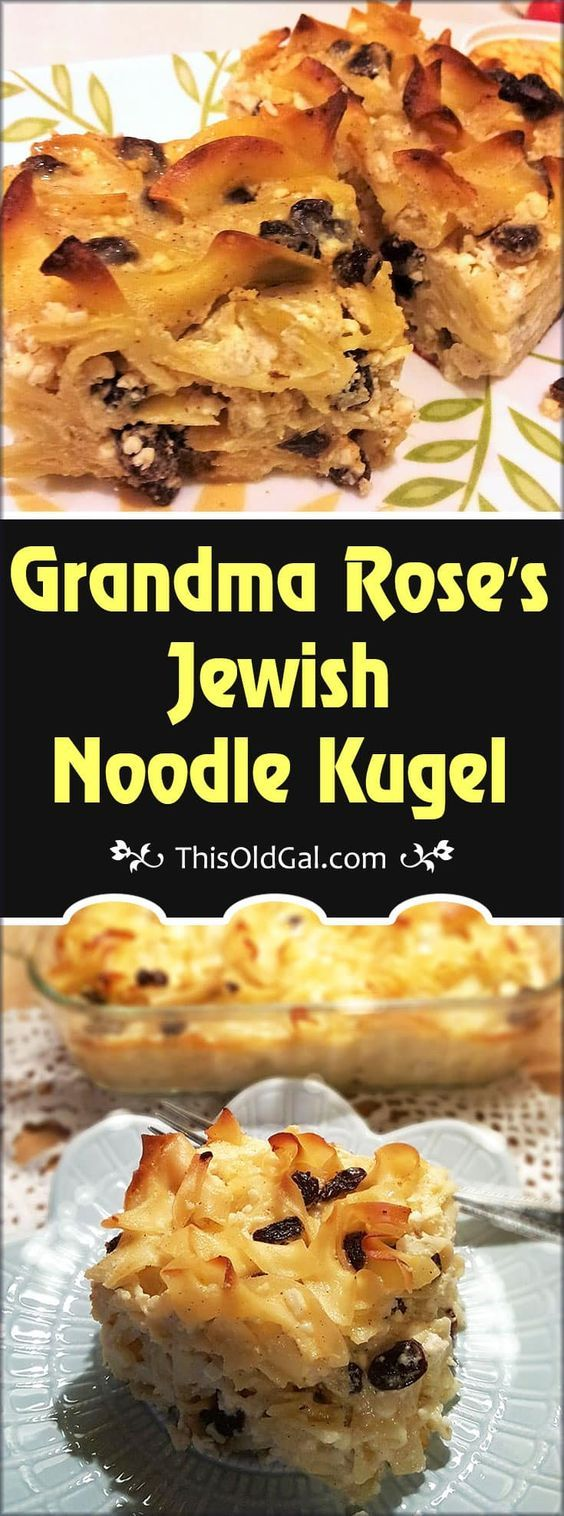 513 best jewish israeli and deli images on pinterest jewish grandma roses jewish noodle kugel jewish recipeseasy forumfinder Choice Image
