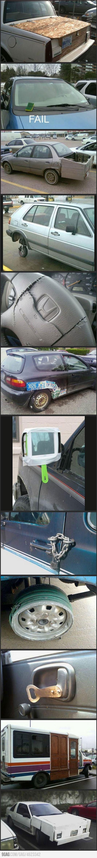 Car repair fails #fails