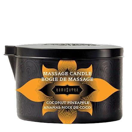 Kama Sutra Massage Candle Mediterranean Coconut Pineapple