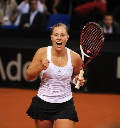 angelique kerber #tennis @jugamostenis