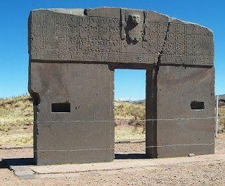 Σ το Puma Punku (= Η Πύλη του Πούμα / Πάνθηρα ) στο Τιχουανάκου / Tiwanaku στην Βολιβία υπάρχουν ερείπια του 536 μ.Χ. (αν και...