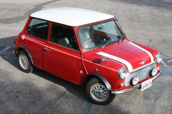 red and white 1967 austin mini craigslist dreams pinterest vehicle and cars. Black Bedroom Furniture Sets. Home Design Ideas