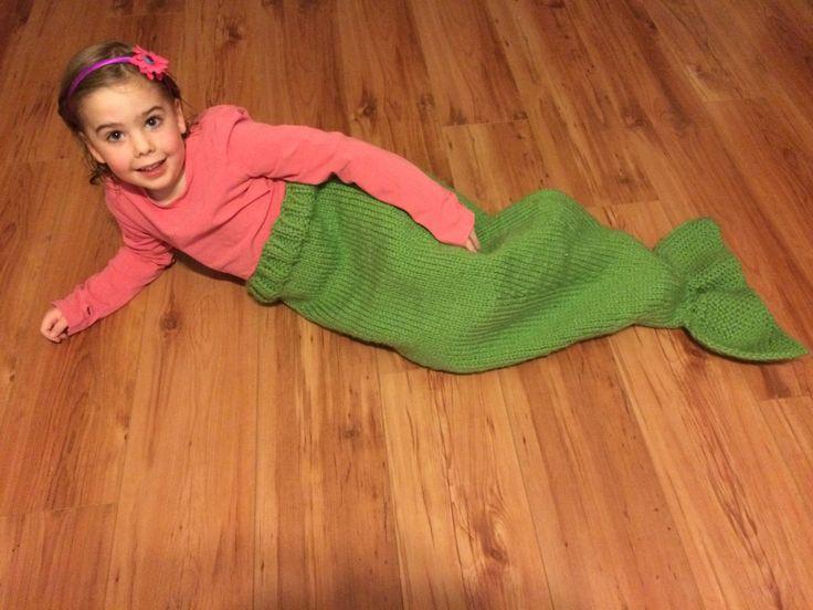 Mermaid Tail Blanket, Child Chunky Mermaid Blanket, Toddler Mermaid Blanket, Blue Mermaid Blanket, Green Mermaid Tail Blanket - pinned by pin4etsy.com