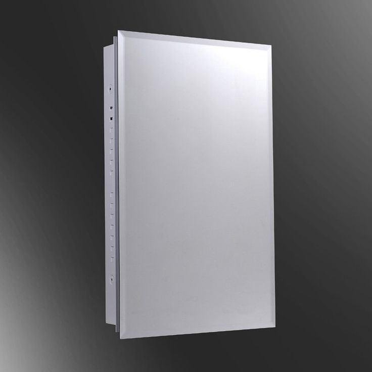 Ketcham 16W x 22H-in. Euroline Surface Mount Medicine Cabinet with Optional Mirror Kit - KETC153