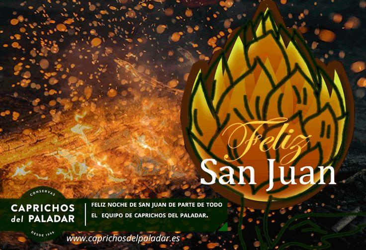 Feliz  Noche de San Juan de parte del equipo de todo el equipo de Caprichos del Paladar