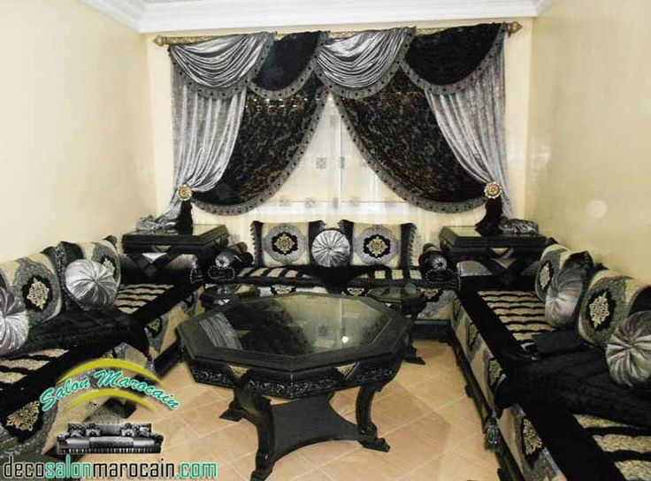 51 best images about salon marocain on pinterest. Black Bedroom Furniture Sets. Home Design Ideas