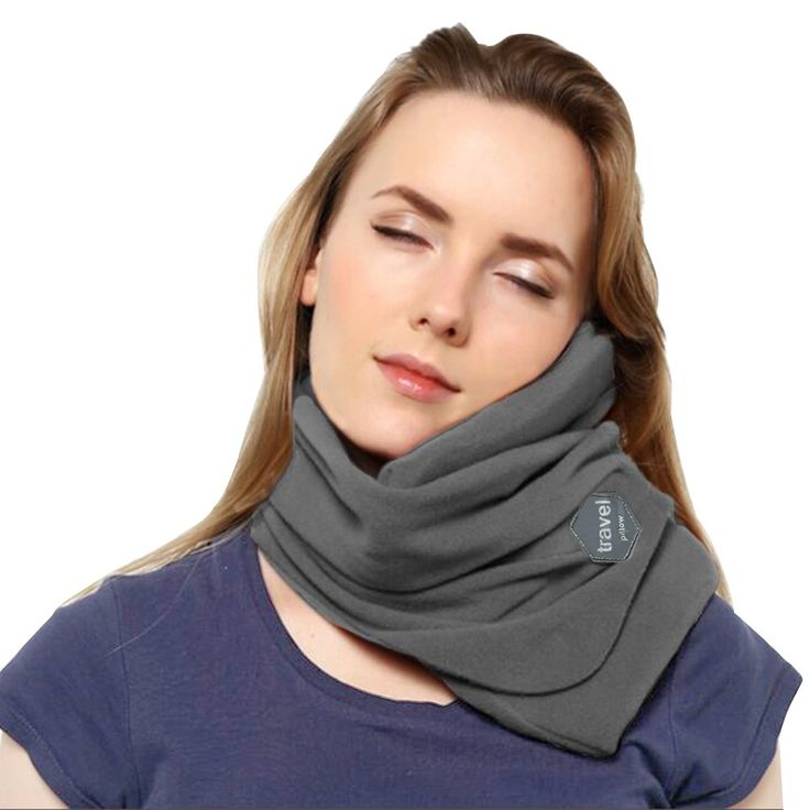 Travel Pillow, FOHO Outdoor Travel Neck Pillow - Scientifically Proven Super Soft Neck Support Pillow - Very Easy Attachable to Luggage - Comfortable, Compact & Lightweight, Best for Airplane