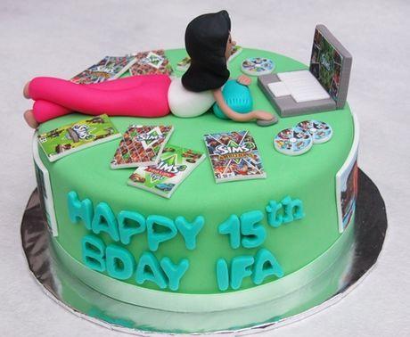 The Sims Theme Cake