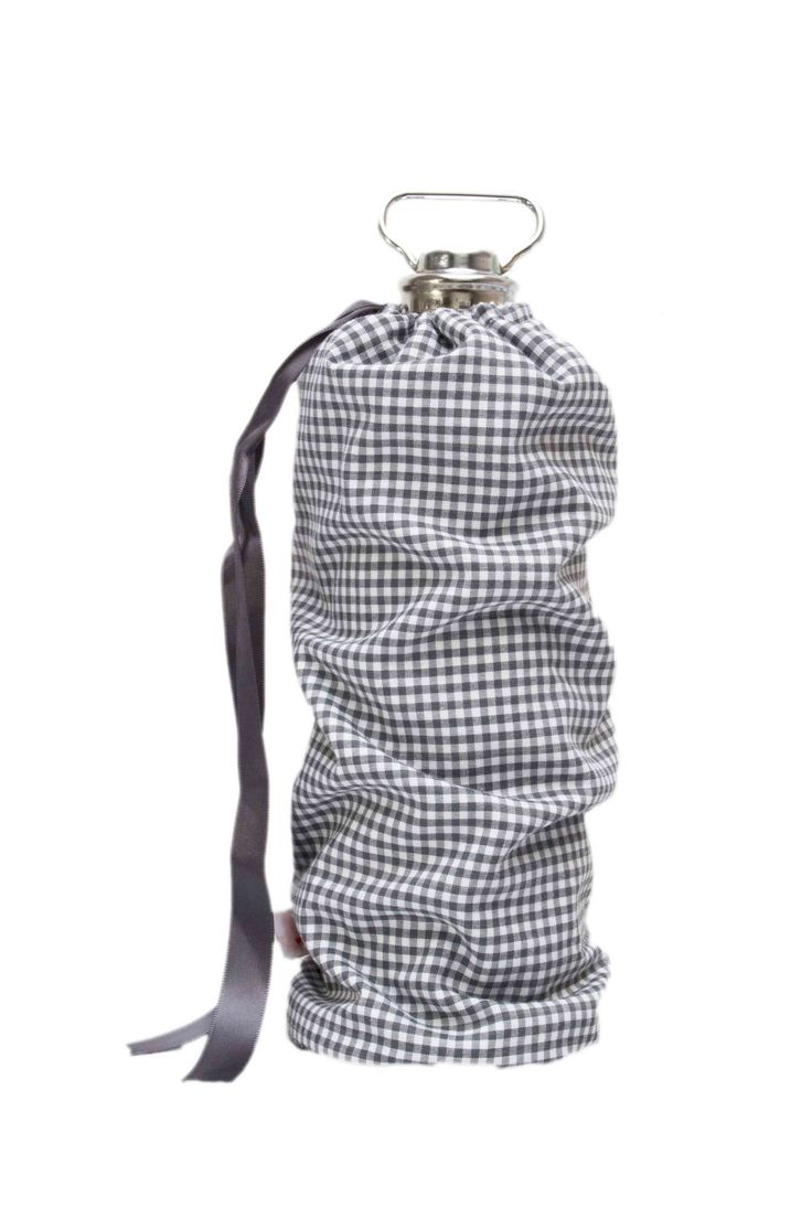 warmwater) bottle pouch (=cover for warmwater babywarmer) @Fabs World  #bottle pouch #babywarmer #kruikzak #nursery #baby #warm water #donkergrijs #grey #kidsroom #babyroom #babyuitzet  #gingham #babystuff #babyspullen #babyshower #interior shop:fabsstore.com (ship worldwide)