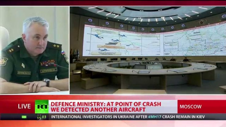 Malaysian Airlines plane crash: Russian military unveil data on MH17 inc...