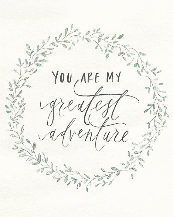 Tu es ma plus grande aventure