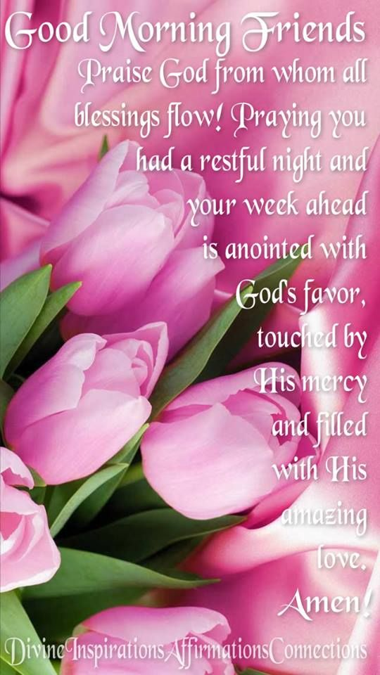 From My Friend Sweet Teresa Religous Morning Blessings