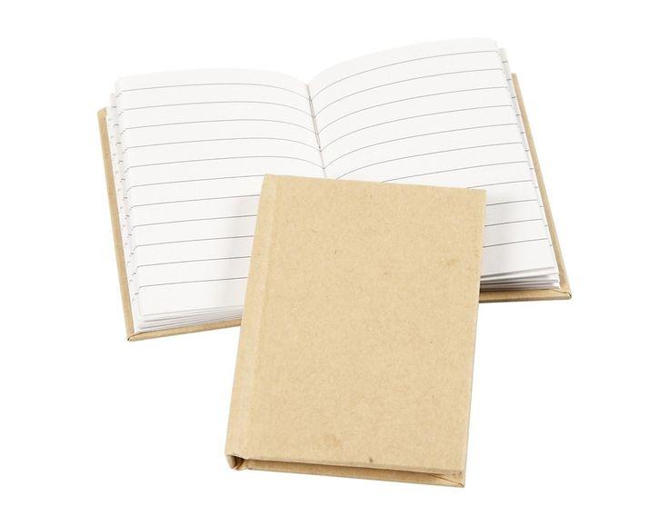 A7 Paper Mache Notebook to Decorate