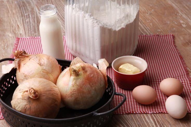 Zwiebelkuchen Der Herzhafte Klassiker Ohne Speck Typisch Heike Zwiebelkuchen Rezepte Speck