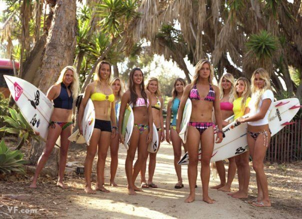 Beautiful surfer girls action, http://www.balisurfwaves.com/bali-surf-guide/