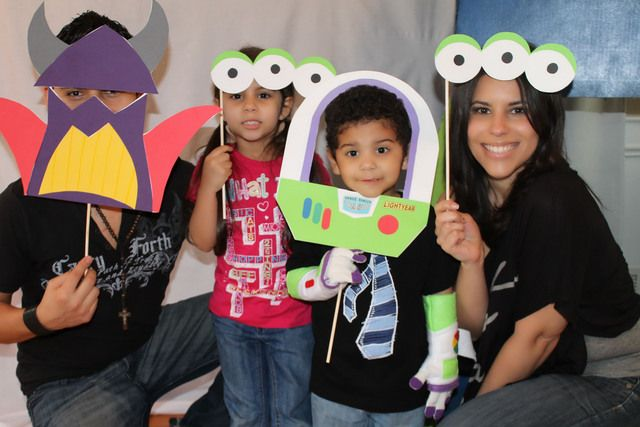 "Photo 4 of 26: Birthday ""Buzz Lightyear Space Party"" 