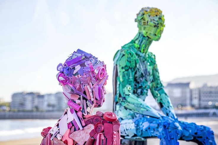 Our content examines contemporary culture and it´s unique relationship with the ocean. Art For Change, Ocean Pollution, Trash Art, Plastic Art, Green Art, Recycled Art, Save The Planet, Public Art, Figurative Art