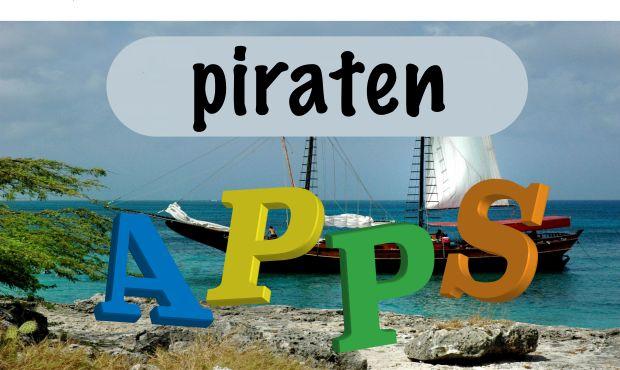 Piraten apps voor kleuters