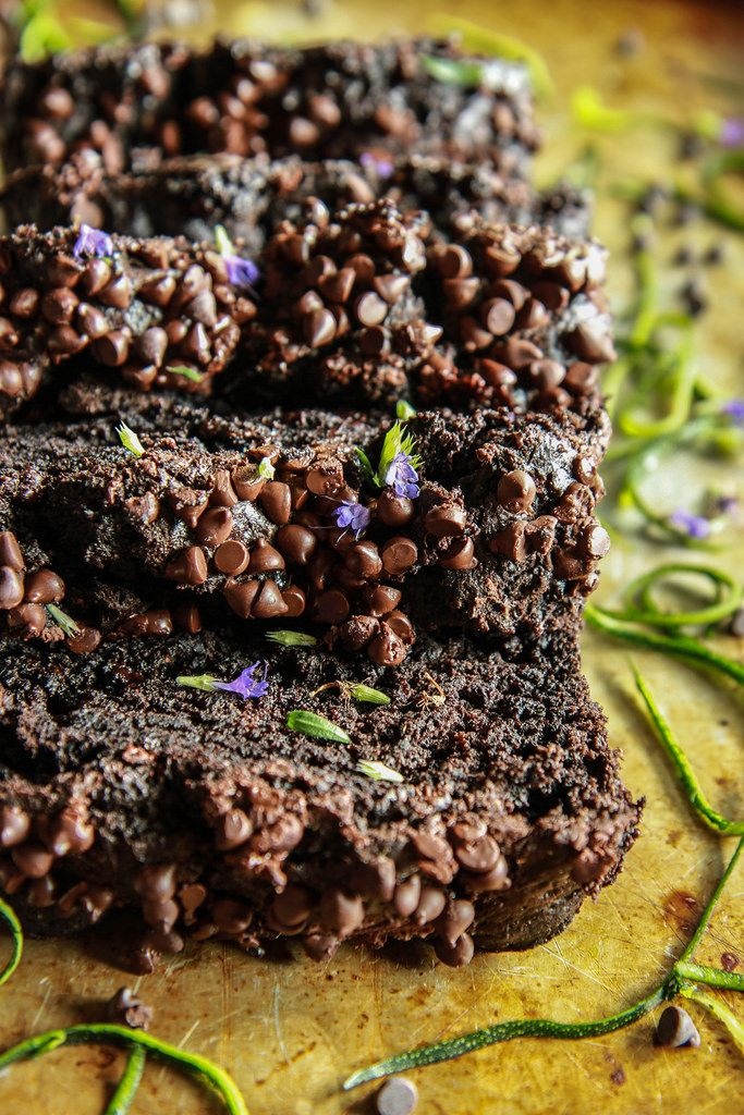 Chocolate Zucchini Bread (Vegan and Gluten-free) | HeatherChristo.com