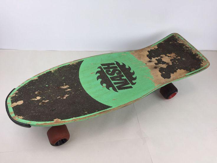 Vintage Nash Z2 Skateboard XR2 Trucks Green 1980s